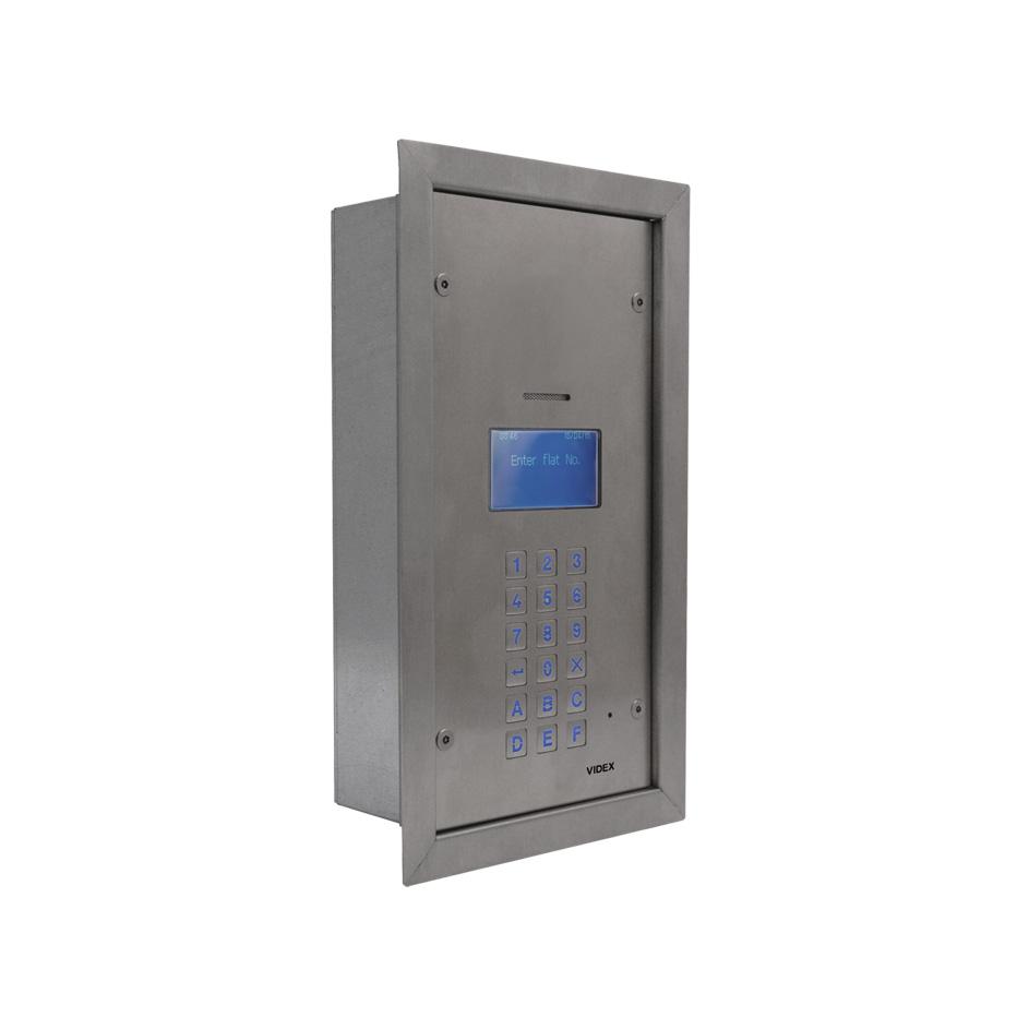 4212 Series Digital Audio Panels Videx Security Wiring Diagram Next