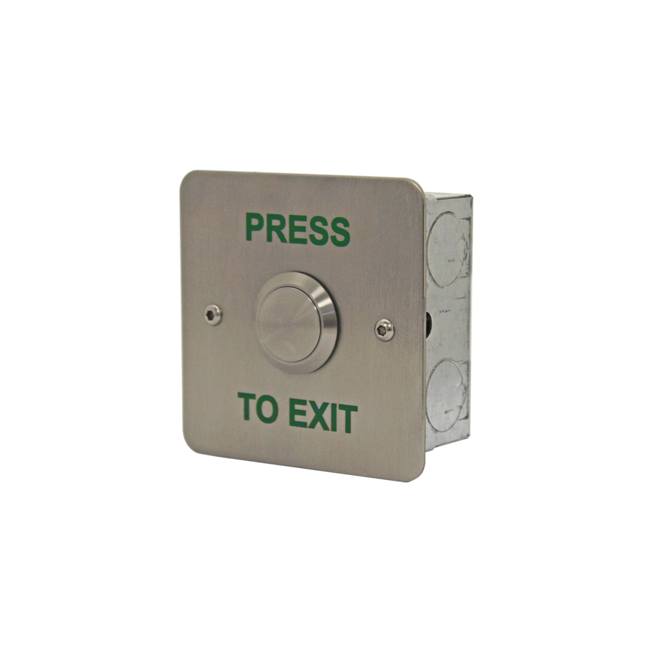 Push To Exit Buttons Videx Security Pushtomake Switch Electronic Symbol Next