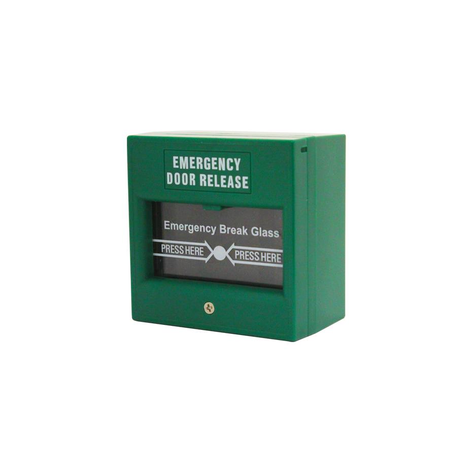 Green Break Glass Units Videx Security