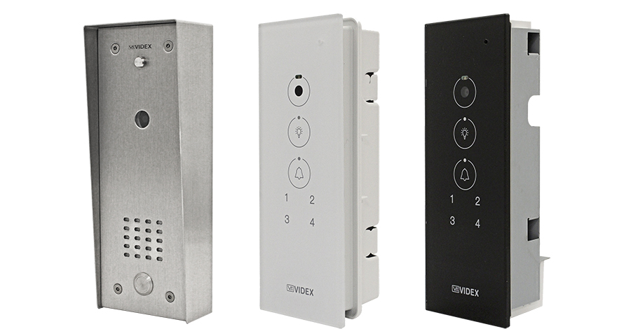 Video Door Entry Panel For Individual Apartments Videx Security
